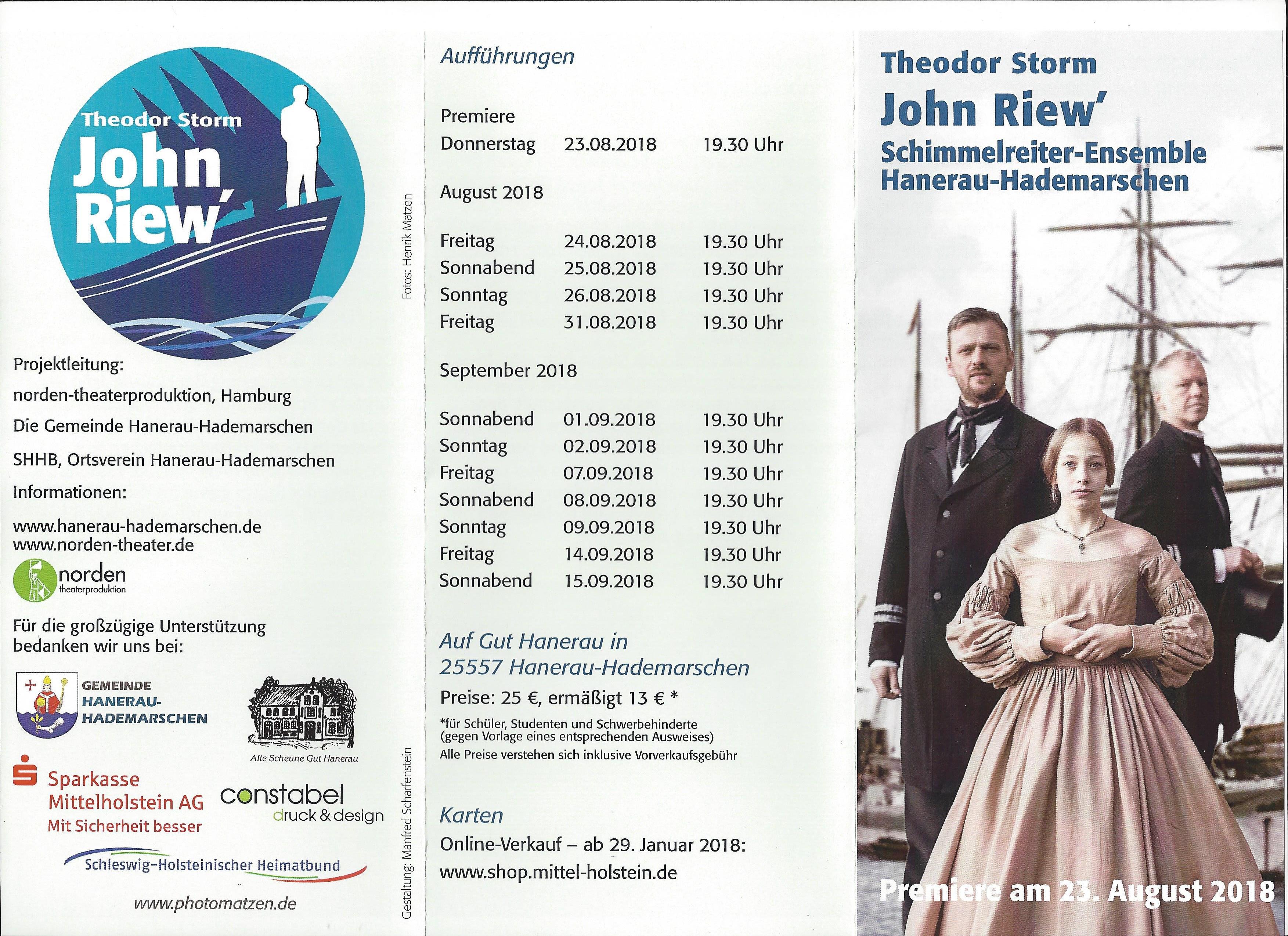 John Riew\': Gemeinde Hanerau-Hademarschen